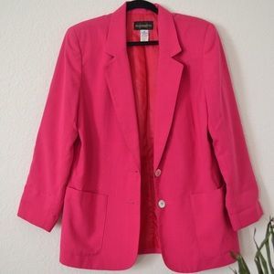 Hot pink blazer *open to offers*